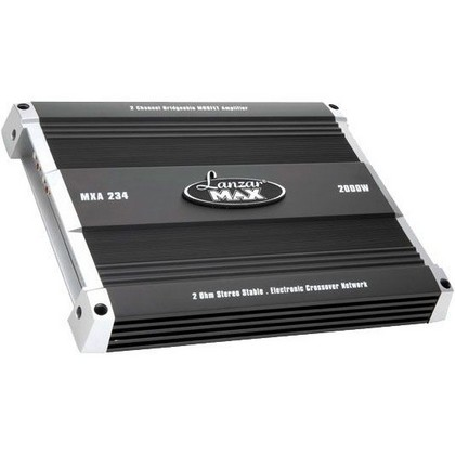 2000-2007 Ford Taurus Lanzar 2000 Watt 2 Channel Bridgeable MOSFET Amplifier