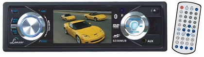 "1998-9999 Ford Contour Lanzar 3"" TFT DVD/VCD/MP3/MP4/CDR/USB Player & AM/FM Receiver Built-In Bluetooth"
