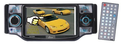 "1998-9999 Ford Contour Lanzar 4.5"" TFT Touch Screen Monitor with DVD/VCD/USB/MP3/CD Player & AM/FM/RDS Radio"