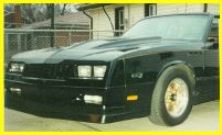 1981-1988 Chevrolet Monte_Carlo Lauren Engineering Body Kit - SS Front Air Deflector Extension