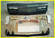 1981-1988 Chevrolet Monte_Carlo Lauren Engineering Body Kit - SS Nose