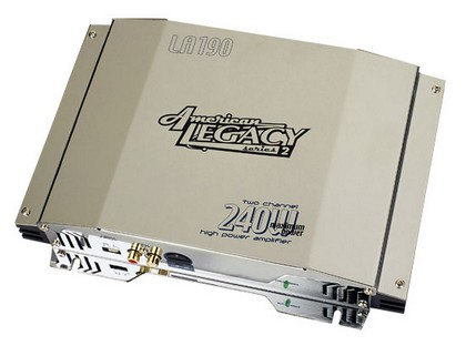 1989-1991 Ford Aerostar Legacy 2 Channel 240 Watt Amplifier