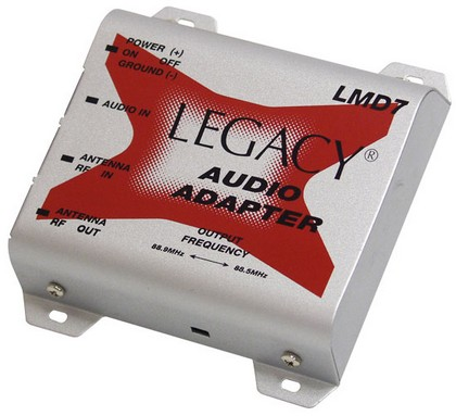 1963-1967 Chevrolet Corvette Legacy FM Modulator For DVD