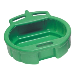1980-1985 Mazda B-Series Lisle Plastic 4-1/2 Gallon Green Spill Proof Drain Pan