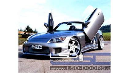 00-Up Honda S2000 (AP1) LSD Doors Vertical Doors - Bolt-On