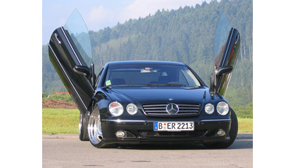 99-Up Mercedes CL (215) LSD Doors Vertical Doors - Bolt-On