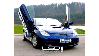 00-Up Toyota Celica Coupe (T23) LSD Doors Vertical Doors - Bolt-On