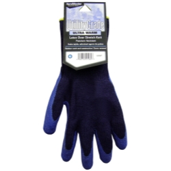 1966-1967 Ford Fairlane MAGID Navy Blue Winter Knit, Latex Coated Palm Gloves - Extra Large