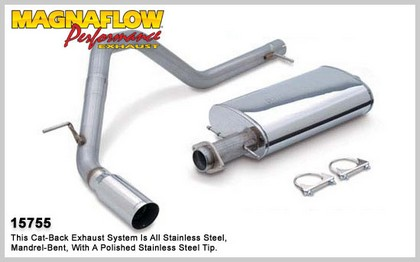 03-05 Ford Expedition 4.6L / 5.4L V8 Magnaflow Performance Exhaust - Single Rear Passenger Side Exit, Cat-Back