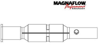 97-99 Riviera, 3.8L Magnaflow Direct Fit Catalytic Converter (50-State Legal)