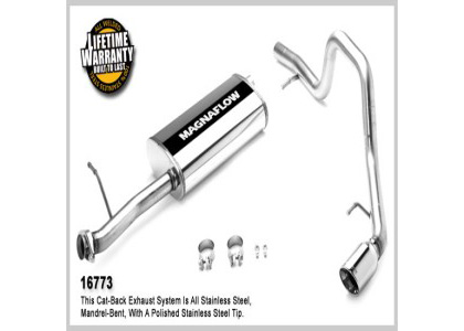 06- Ford Explorer 4.0L;;06- Ford Explorer 4.6L Magnaflow Performance Exhaust - Single Rear Drivers Side Exit, Cat-Back
