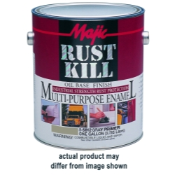 2001-2005 Toyota Rav_4 Majic Rust Kill Multi Purpose Enamel, Gallon Matte Black