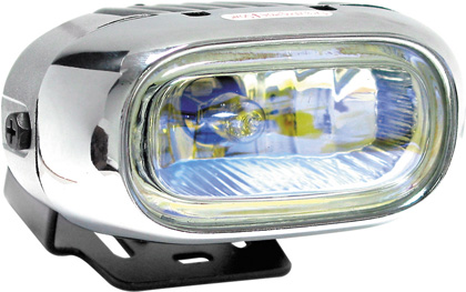1991-1994 Mazda Navajo Matrix Foglights - Oval Chrome II (Rainbow)