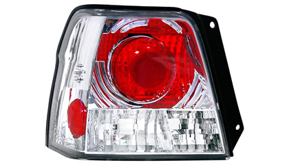 95-98 Toyota Tercel Matrix Tail Lights - Red Eye Style