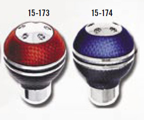 2000-2002 Plymouth Neon Matrix Universal Shift Knobs - Blue/Silver/Black
