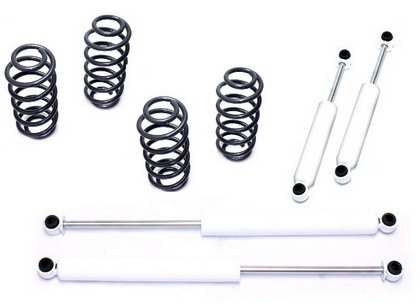 1965-1972 Chevrolet C10 2WD MaxTrac 2-4 Inch Lowering Kit (Includes Part Numbers 251120 / 271140 / 1300Ll / 2000Ll)