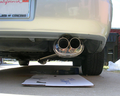 "99-02 Solara Megan Racing OE-RS Exhaust - Pipe Size: 2.38"", Tip Size:Single 4"""