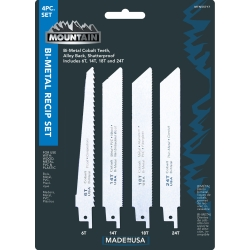 2008-9999 Audi S5 Mountain 4 Piece Mountain Bi-Metal Reciprocating Blade Set