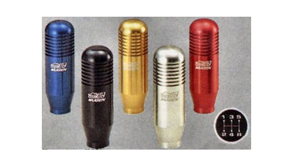 All Hondas (Universal) Mugen Shift Knobs - 5 Speed Manual Transmission (Silver)