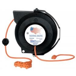 Universal (All Vehicles) National Electric Heavy Duty Tri-Tap Reel