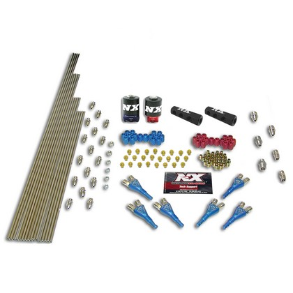 97-01 Cadillac Catera V6 Nitrous Express Shark/Piranha Plumb Kit (with 2 Solenoids and 150 HP Jets)