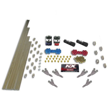 00-03 Toyota Tundra V6 Nitrous Express SSV/STD Plumb Kit (with 2 Solenoids and 150 HP Jets)