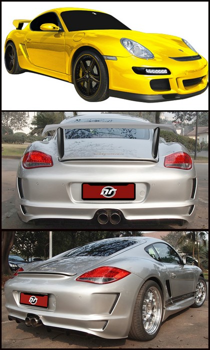 06-11 987 Cayman NR Auto GT3 Body Kit