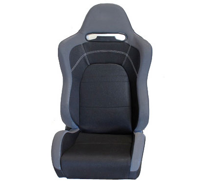 1999-2003 Audi S6 NRG Racing Seat - EVO Black Cloth Sport (Right)
