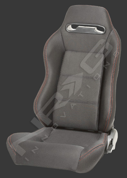 1992-1996 Honda Prelude NRG Racing Seats - Type-R Cloth Sport (Black