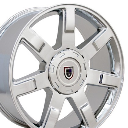 "Chevrolet 03-Current Astro OE Wheels 24""X10"" Escalade Replica Wheel (Chrome)"