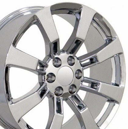 "Chevrolet 03-Current Astro OE Wheels 22""X9"" Escalade Replica Wheel (Chrome)"