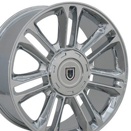 "Chevrolet 03-Current Astro OE Wheels 20""X9"" Escalade Replica Wheel (Chrome)"