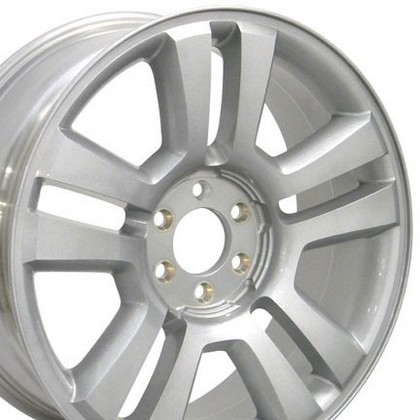 "Ford 03-10 Expedition 2WD / 4WD OE Wheels 22""X9"" 150 Harley 3645 Wheel (Silver)"