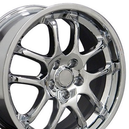"Infiniti Q45 96-06 OE Wheels 18""X8"" G35 Sedan 10 Spoke Replica Wheel (Chrome)"