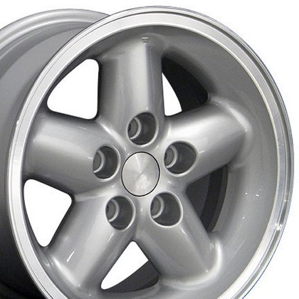 "Jeep Liberty 2WD and 4WD 02-07 OE Wheels 15""X8"" New Wrangler Wheel (Silver)"