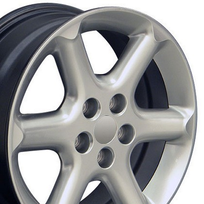 "Nissan Maxima 89-Current OE Wheels 17""X7"" Maxima Replica Wheel (Hyper Silver)"