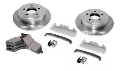 00-01 Jeep Cherokee Omix-Ada Disc Brake Rebuild Kit - Front