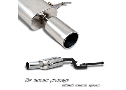 01-03 Prot�g� Option Racing Exhaust Systems