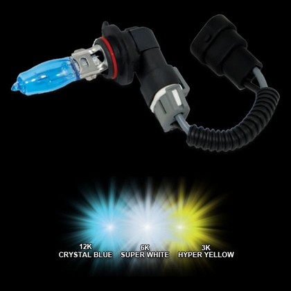 93-94 Bmw 740 Oracle 9006 HOD Bulbs (Crystal Blue)