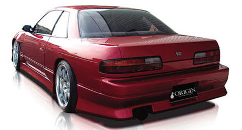 89-93 Nissan Silvia S13 (JDM Front w/ Coupe Trunk) Origin Stylish Body Kit - Rear Bumper