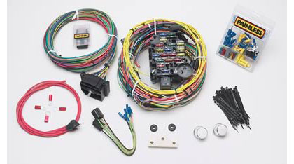 painless shipping at andy s painless 18 circuit wiring harness