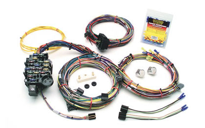 pontiac gto painless wire harnesses painless wiring kits 1969 1970 pontiac tempest base custom 1969 1972 buick skylark base painless 18 circuit wiring harness