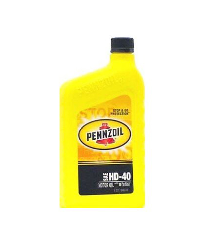 2002-2002 Lincoln Blackwood Pennzoil Motor Oil - HD40 CS12