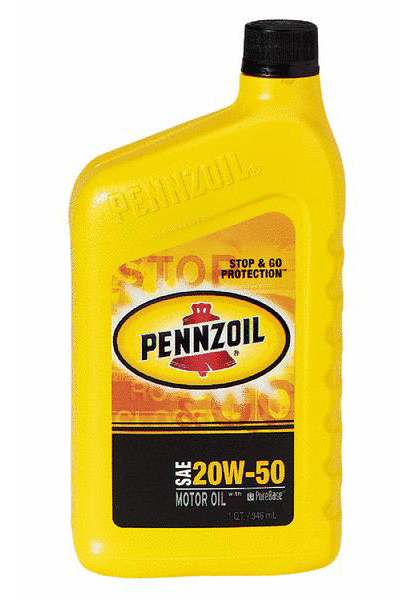1993-1997 Mazda Mx-6 Pennzoil Motor Oil - 20W50 CS12