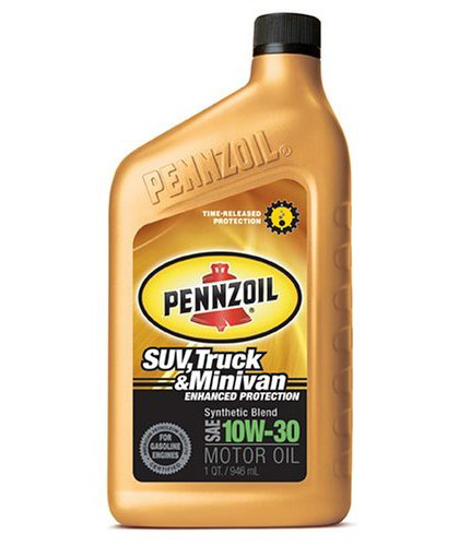 2002-2002 Lincoln Blackwood Pennzoil Synthetic Blend - 10W30 CS6