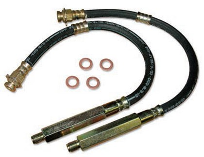 74-77 Chevrolet Malibu Performance Online Replacement Hydraulic Brake Hose (Rear Disc Brakes)