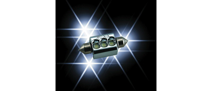 00 Mercedes-Benz S-class (With halogen capsule headlamps) PIAA LED Bulb Series License Plate Light
