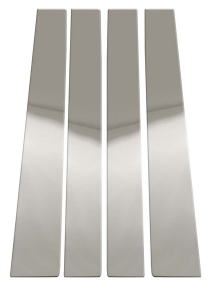 01-03 F150 Supercrew Pilot Polished Stainless Steel Door Pillar Post Trim