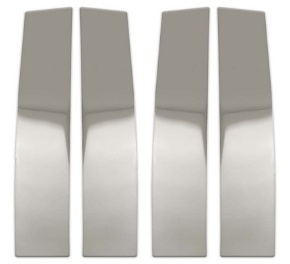04-08 F150 Supercrew Pilot Polished Stainless Steel Door Pillar Post Trim