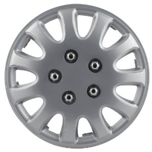 "2006-2008 BMW 7_Series Pilot 5 Lug 14"" Wheel Cover (Silver)"